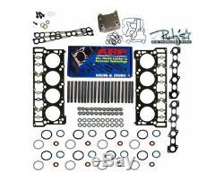 03-05 Ford 6.0L Powerstroke Black Diamond Head Gasket Oil Cooler ARP Studs 18mm