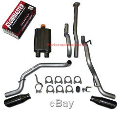 05-12 Toyota Tacoma 4.0 Catback Dual Exhaust Side Exit Flowmaster Super 44