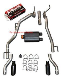 09-19 Dodge Ram Hemi Catback Dual Exhaust Rear Exit Flowmaster Super 44