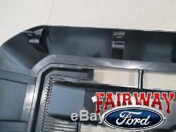 11 thru 16 Super Duty F250 F350 F450 F550 OEM Genuine Ford Black Grille Grill