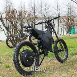 12000with72v Electric Bicycle Scooter Ebike Mountain Bike Super Fast 120km/h