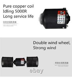 12V Car Air Conditioner Kit Under Dash Cooling Evaporator Compressor 3 Level A/C