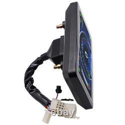 12V Motorcycle Speedometer Odometer Tachometer RPM Speed Meter Fuel LCD Gauge