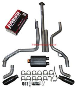 15-20 Ford F150 2.7 3.5 5.0 Performance Dual Exhaust Kit with Flowmaster Super 44