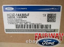 17 thru 19 Super Duty F250 F350 F450 F550 OEM Ford Upfitter Fuse & Relay Panel