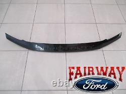 17 thru 20 F250 F350 Super Duty OEM Ford Black Lexan Hood Deflector Bug Shield
