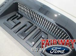 17 thru 20 Super Duty F-250 Lariat Sport Package Black Fender Emblems Pair of 2