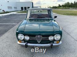 1972 Alfa Romeo Giulia Restored! Rare SEE VIDEO