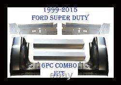 1999 2016 6Pc Ford Super Duty Rocker Panel, Inner & Cab Kit, 2 Door Regular Cab