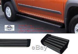 2004-2014 Ford F-150 SUPER CREW CAB Running Boards Black Nerf Bar Side Step