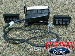 2009 2010 Super Duty F250 F350 F450 F550 OEM Ford In-Dash Upfitter Switch Kit