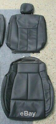 2015 2019 Original Ford F150 Super Crew Takeoff Black Leather Seat Upholstery