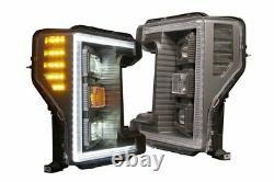 2017-2019 Ford F250 F350 Super Duty Morimoto XB Hybrid LED Headlights LF554