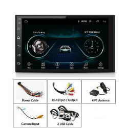 2Din 7 Android 8.1 Car GPS Navigation WiFi Radio Auto Stereo Multimedia Player