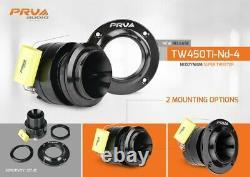 2x PRV Audio TW450Ti-ND-4 Bullet Neodymium Pro Super Tweeter 4 Ohm Titanium 240W
