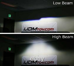 30W High Power LED Bi-Xenon Projector Lens For Headlight Retrofit Custom Upgrade