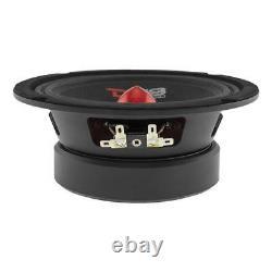 4 DS18 PRO-GM6.4B 6.5 Midrange Bullet Loud Speaker 4 PRO-TW120 Super Tweeter