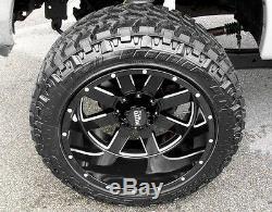 4 Moto Metal 962 20x12 Gloss Black Wheels 8x170 Ford F-250 Super Duty