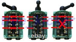 60 Amp Drum Switch Forward/Off/Reverse Motor Control Rain-Proof Reversing 60A D