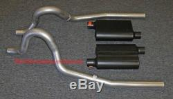 86-04 Ford Mustang GT Exhaust System with Flowmaster Super 44 Mufflers
