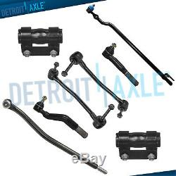 8pc Drag Link Inner Outer Tie Rod Linkage Ford Excursion F-250 Super Duty 4x4