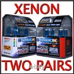9005 & 9006 LOWithHIGH XENON HID HALOGEN HEADLIGHT BULBS