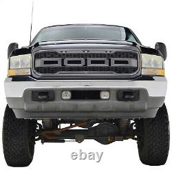 99-04 Raptor Style Grille For 99-04 Ford F250 F350 Super Duty Gray