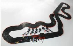 AFX 21018 Super International Raceway MG+ Complete RTR HO Slot Car Racing Set
