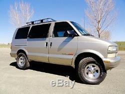 Astro Safari Lift kit, 2-5 AWD Super Van Lift Kit