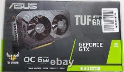 Asus Tuf Gaming Geforce GTX 1660 Super OC GPU Graphics Video Card TUF-GTX1660S-O