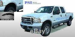 Black Paintable Rugged Style Fender Flares 99 07 Ford F-250, F-350 Super Duty