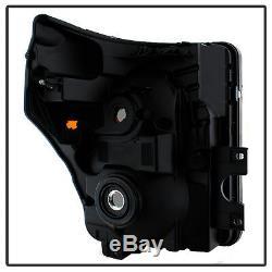 Black Smoke 2011-2016 Ford F250 F350 F450 Super Duty Headlights Left+Right 11-16