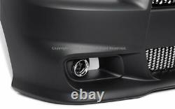 Charger 11-14 SRT8 Front Bumper Cover Upper Lower Grille Fog Light Conversion