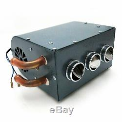 Compact Heater Deluxe Kit Truck Hot Rod Roadster Coupe Vintage SoCal SCTA 32 V8
