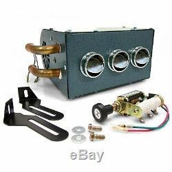 Compact Heater Under Dash Hot Rod Rat Street Custom Vintage Style Lowrider Bomb