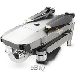 DJI Mavic Pro Platinum Quadcopter Drone with 4K Camera and Wi-Fi Super Pack