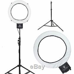 Diva Ring Light Super Nova 18 Dimmable Photo/Video Light with 6' Light Stand