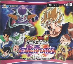 Dragon Ball Super Card Game Booster Box Clash of Fates TB03