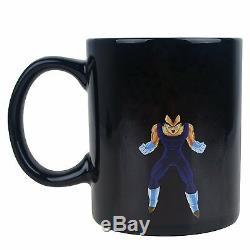 Dragon Ball Z Super Saiyan Vegeta Ceramic Changing Mug