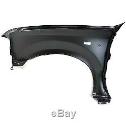 Fender Set For 1999-2007 Ford F-250 Super Duty 99-04 F-550 Super Duty Front 2Pc