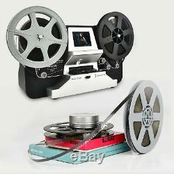 Film Scanner 5&3 Reel 8mm Super 8 Roll Digital Video Scanner Movie Digitizer