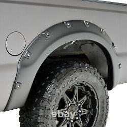 Fits 08-10 Ford Super Duty F250/F350 Fender Flares Textured Black Pocket
