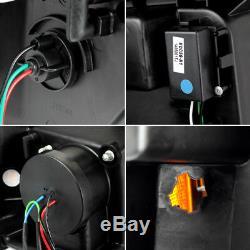 Fits 2009-2014 Ford F150 F-150 Super Bright DRL LED Tube Projector Headlights