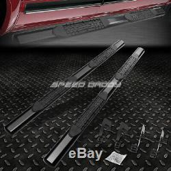 For 04-14 Ford F150 Ext/super Cab 4oval Black Side Step Nerf Bar Running Board