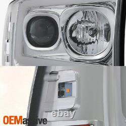 For 99-04 Ford F250 Super Duty / 00-04 Ford Excursion Light Projector Headlights