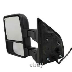 For 99-07 Ford F250 Super Duty Towing Mirrors Power Heated Smoke Turn Signal