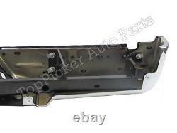 For Ford 2008-2012 Super Duty Rear Bumper Chrome Assy Pad Bracket WithO Sensor