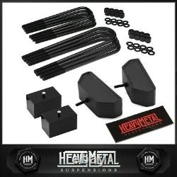 For Ford F250 F350 Super Duty 1999-2004 3.5 Front + 3 Rear Lift Level Kit 4WD