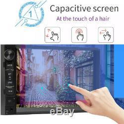 For Sony Lens Bluetooth Car Stereo Radio USB In-Dash WIFI GPS Navi+Backup Camera