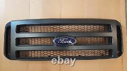 Ford MATTE BLACK Grille CONVERSION fit 1999-2004 Super Duty F250 F350 F450 F550